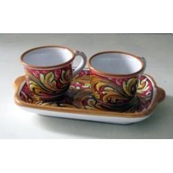 Caffé  per due con vassoio - Sabrina