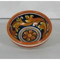 Bowl diameter 9 cm - Ornato Giallo e Blu
