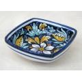 Square Bowl 14 x 14 cm - Fiore Blu