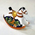 Rocking horse - Ornato Blu