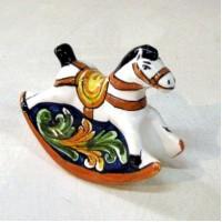 Cavallo a dondolo - Ornato Blu