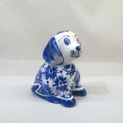 Cagnolino - Fiorellini Blu