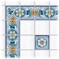 Tile decoration Filicudi