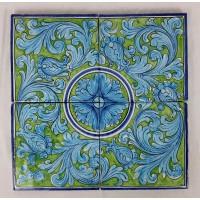 Pannello 40 x 40 cm  - Turchese