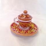 Tazzina da caffè con coperchio - Sabrina
