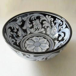 Ciotola diametro 20 cm. - Barocco Nero