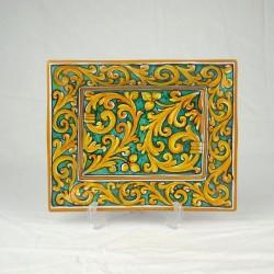 Porta Cioccolatini 22 x 16 cm - Cuore Verde