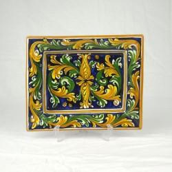 Porta Cioccolatini 22 x 16 cm - Ornato Blu