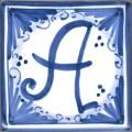 Tile letter A