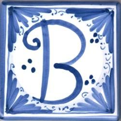Mattonella  lettera B