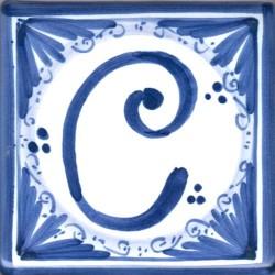 Mattonella  lettera C