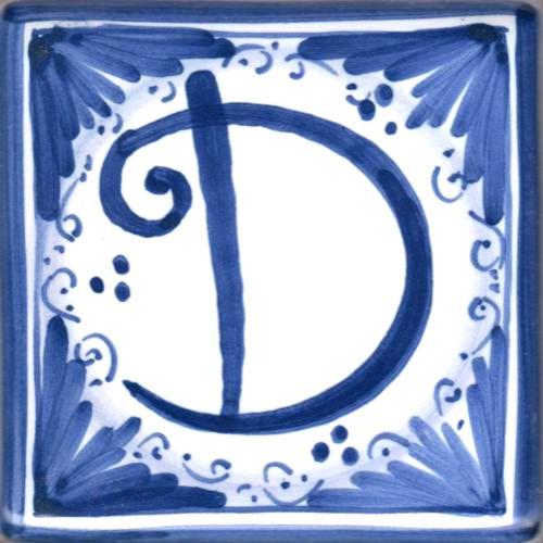 Mattonella  lettera D