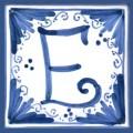 Tile letter E
