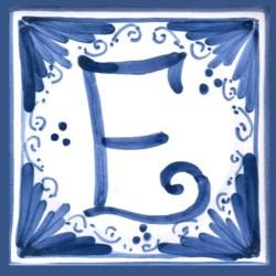 Mattonella  lettera E