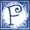 Tile letter F