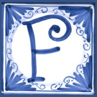 Mattonella lettera F