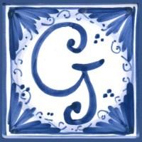 Mattonella lettera G