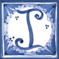 Tile letter I