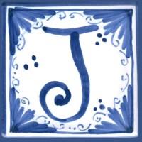 Mattonella lettera J