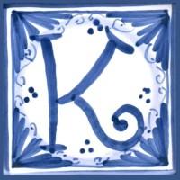 Mattonella lettera K