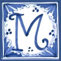 Mattonella lettera M