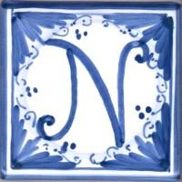 Mattonella lettera N