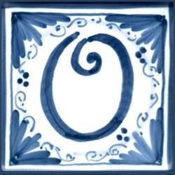 Mattonella lettera O