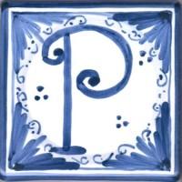Mattonella lettera P