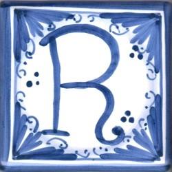 Mattonella lettera R