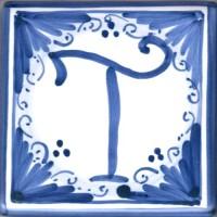 Mattonella lettera T