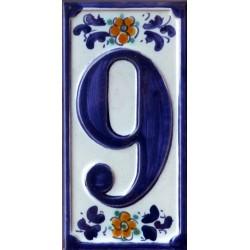 Mattonella numero civico - 9