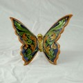 Farfalla 15 x 15 cm - Ornato Blu