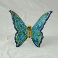Butterfly 15 x 15 cm - Turchese