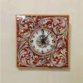 Wall clock  20 x 20 cm - Corallo