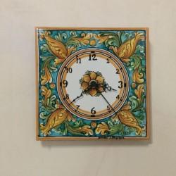 Orologio murale  20 x 20 cm - Ornato Verde