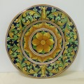 Wall plate diameter 45 cm - Ornato Blu