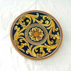 Piattino murale diametro 12 cm - Cuore Blu
