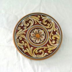 Piattino murale diametro 12 cm - Rubino