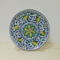Wall plate diameter 30 cm -  Seicento Blu