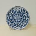 Wall plate diameter 30 cm -  Settecento Blu