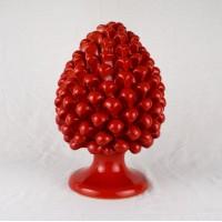 Pigna h. 25 cm - Rosso
