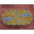 Oval  Lava stone Table 240 x 120 cm - Intrecciato