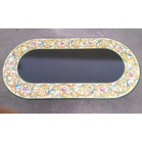 Tavolo Ovale in Pietra Lavica 240 x 120 cm - Volute