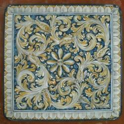 Tavolo quadrato in pietra lavica 70x70 cm. - Catania