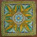Square Lava stone table 90x90 cm. - Ovali