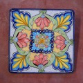 Square Lava stone table 70x70 cm. - Etnico 02