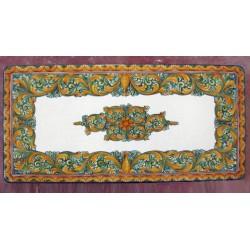 Tavolo Rettangolare in Pietra Lavica 220 x 110 cm - Ornato Verde