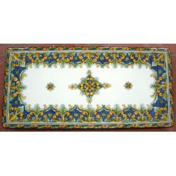 Tavolo Rettangolare in Pietra Lavica 240 x 120 cm - Simona Blu