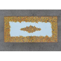 Tavolo Rettangolare in Pietra Lavica 260 x 130 cm - Seta
