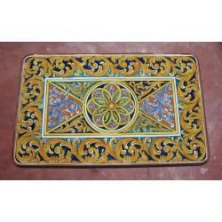 Tavolo Rettangolare in Pietra Lavica 160 x 80 cm - Enna